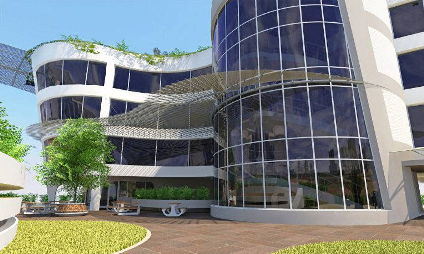 Tj architects south africa commercial architecture bank for Tj motors new london