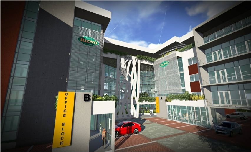 Tj architects south africa commercial office architecture for Park ridge building department